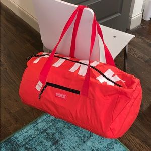 NWT PINK duffel bag